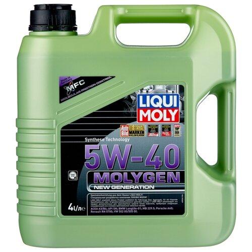 цена на Моторное масло LIQUI MOLY Molygen New Generation 5W-40 4 л