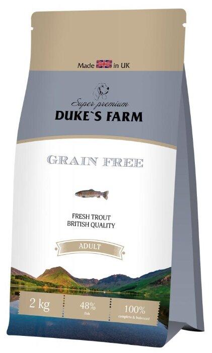 Корм для собак DUKE'S FARM форель