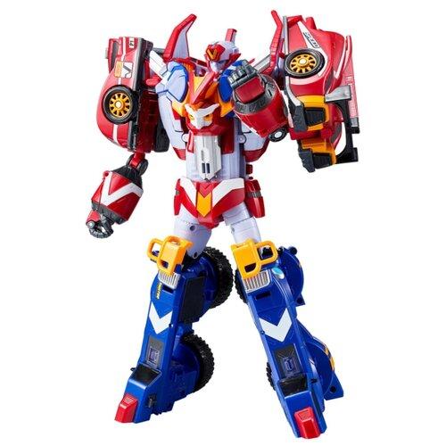 Купить Трансформер YOUNG TOYS Tobot Galaxy detectives Master V 301103 красный/синий/серый, Роботы и трансформеры