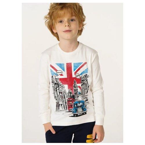 Купить Лонгслив Ido размер 86, молочный, Футболки и рубашки