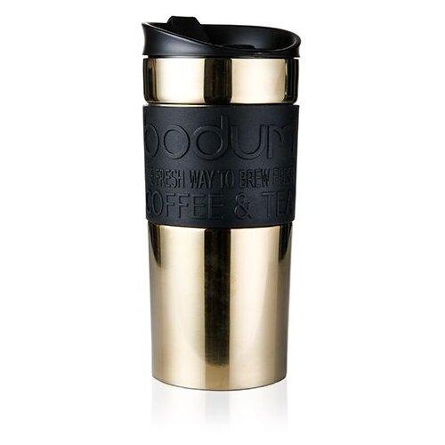 Термокружка Bodum Travel Mug, 0.35 л золотистый
