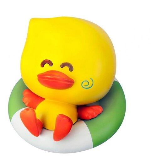 Купить Игрушка для ванной B kids Уточка желтый/зеленый/белый, Игрушки для ванной