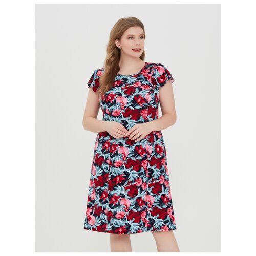 Фото - Платье Vistyle размер 3XL красно-синий халат vistyle размер 3xl синий