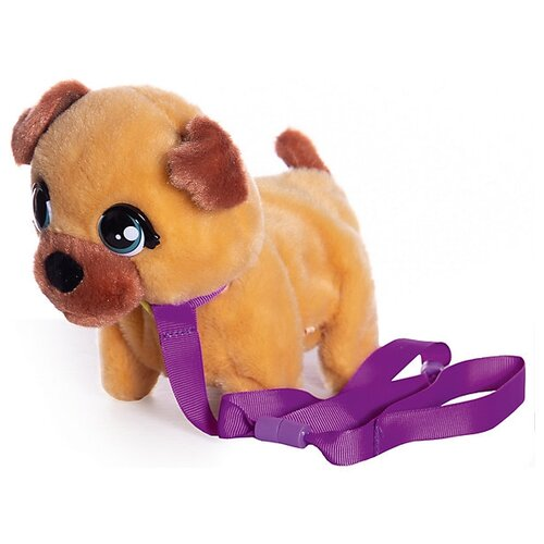 Фото - Интерактивная мягкая игрушка Club Petz Mini Walkiez Щенок, Shepherd интерактивная мягкая игрушка mioshi active весёлый щенок mac0601 006 белый
