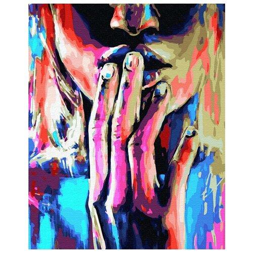 Купить Картина по номерам ВанГогВоМне ZX 23354 Разноцветная тишина 40х50 см, Картины по номерам и контурам