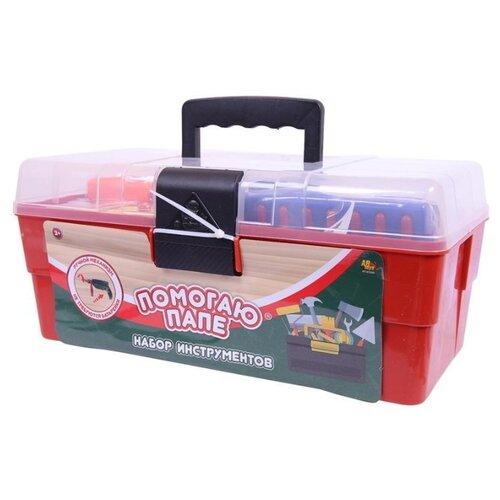 ABtoys Игровой набор Помогаю папе, в ящике, 33 предмета (PT-01294) ABtoys   фото