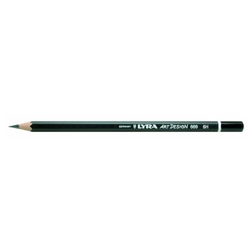 Купить Lyra Карандаш чернографитный Art design 6H (L1110116), Карандаши