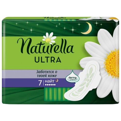 Naturella прокладки Camomile Ultra Night 7 шт. naturella ultra night прокладки гигиенические с крылышками найт 7 шт