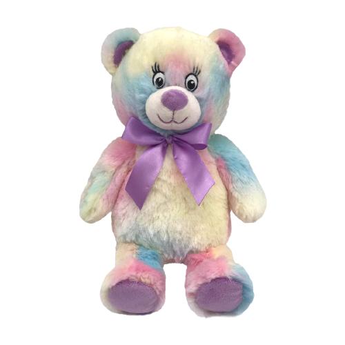 Фото - Мягкая игрушка Fluffy Family Мишка Радуга 23 см мягкая игрушка fluffy family мишка зефирка голубая 19 см 681866