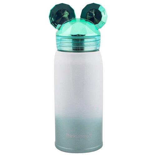 Термокружка Эврика Мышонок, 0.3 л зеленый