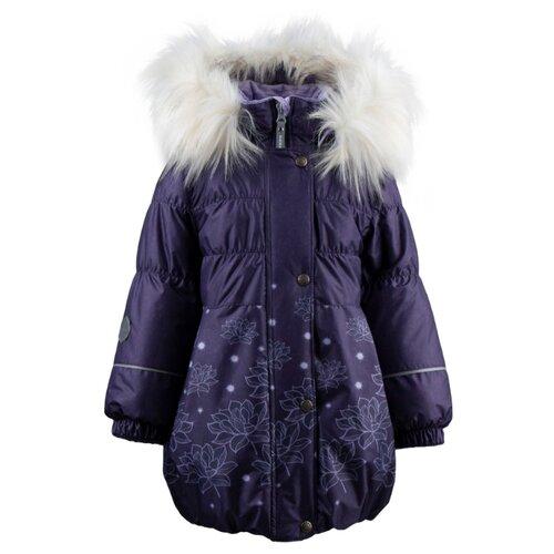 Купить Пальто KERRY Estella K19434 размер 122, фиолетовый, Куртки и пуховики