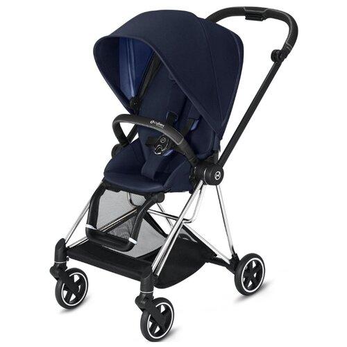 Купить Прогулочная коляска Cybex Mios 2019/2020 indigo blue/chrome/black, цвет шасси: серебристый, Коляски
