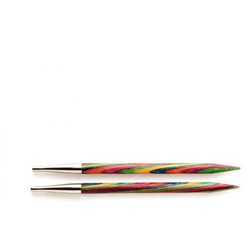 Купить Спицы Knit Pro съемные Symfonie 20427, диаметр 5.5 мм, длина 10 см, многоцветный