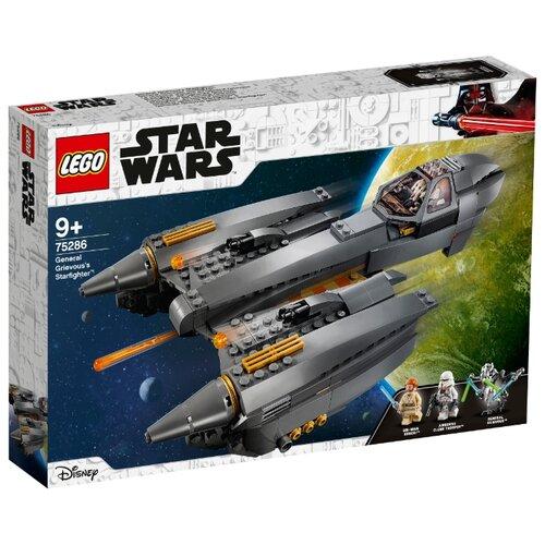 Конструктор LEGO Star Wars 75286 Звёздный истребитель генерала Гривуса lego star wars 75249 конструктор лего звездные войны звёздный истребитель повстанцев типа y