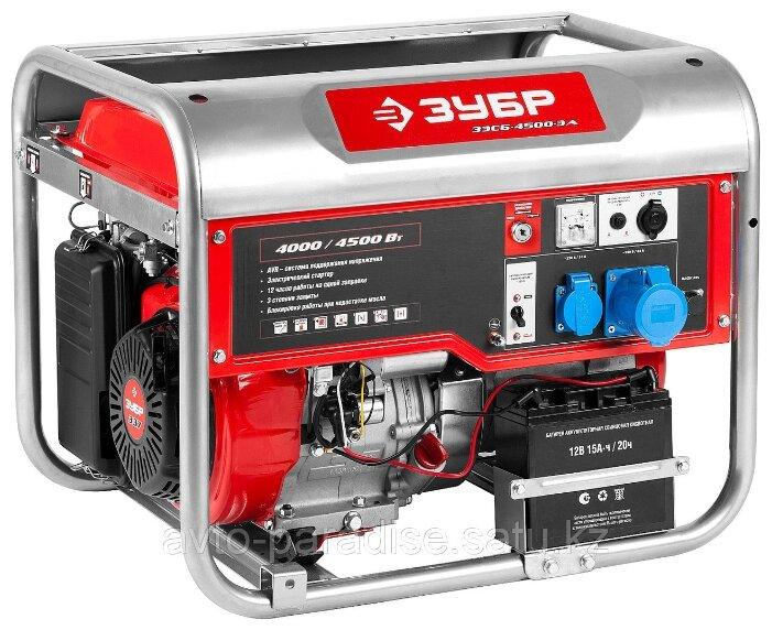 Бензиновый генератор с автозапуском ЗУБР ЗЭСБ-5500-ЭА 5 кВт