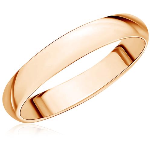 Бронницкий Ювелир Кольцо из красного золота 15020252, размер 16
