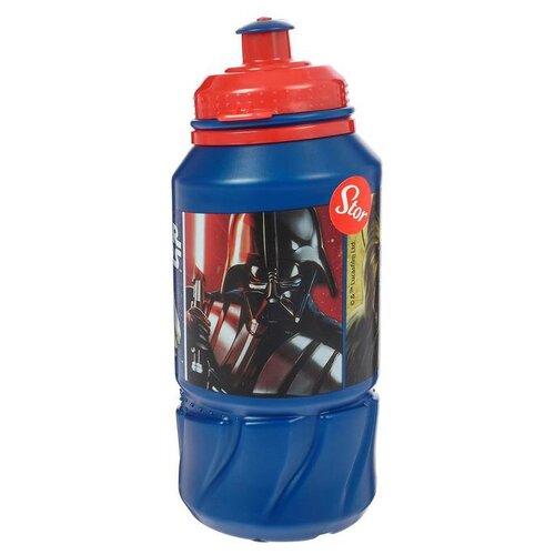 Бутылка для воды, для безалкогольных напитков Stor спортивная 0.42 пластик Звездные Войны Классика