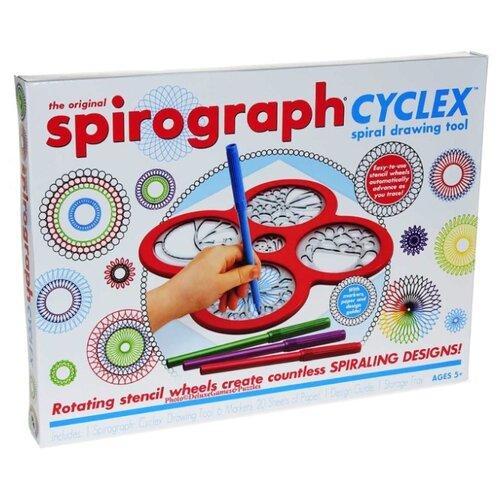 Спирограф Hasbro Cyclex красный 1 шт.