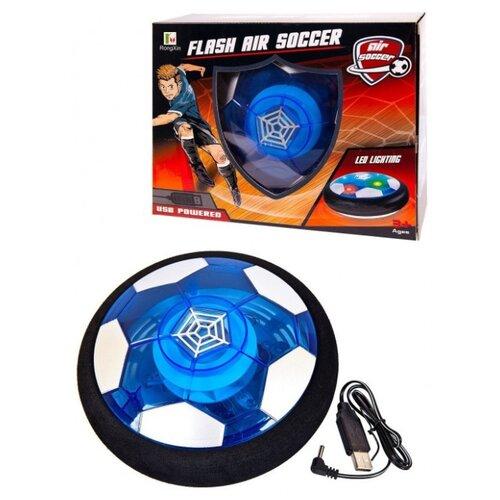 Мяч-диск 18см RongXin (RX3381C) черный/белый/синий