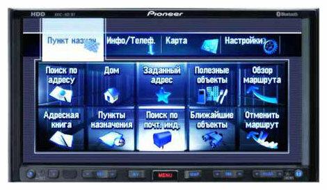 Автомагнитола Pioneer AVIC-HD3BT