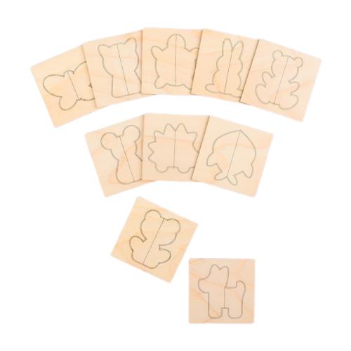 Купить Счетный материал Лесная мастерская Плашки Животные 4966660 дерево, Обучающие материалы и авторские методики