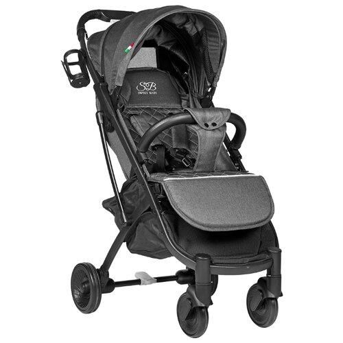Прогулочная коляска SWEET BABY Compatto grey прогулочная коляска sweet baby suburban compatto black