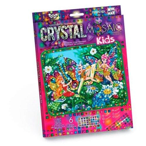 Купить Danko Toys Набор алмазной вышивки Crystal Mosaic Феи (CRMK-01-09), Алмазная вышивка