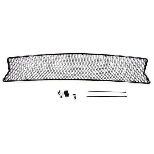 Arbori Сетка на бампер внешняя для RENAULT Logan 2014->, без хр.пак., черн., 15 мм arbori сетка на бампер внешняя для suzuki vitara 2015 2018 2 шт черн 15 мм без декоративной накладки на передний бампер