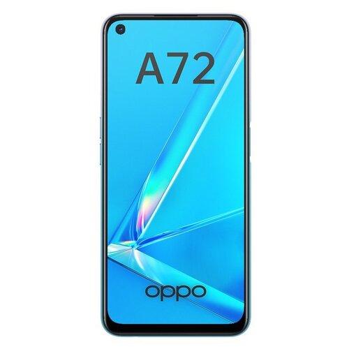 Смартфон OPPO A72 128GB, сияющий белый