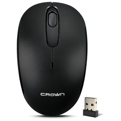 Мышь CROWN MICRO CMM-10W Black USB