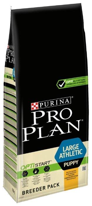 Корм для щенков Purina Pro Plan Optistart курица с рисом 18 кг (для крупных пород)