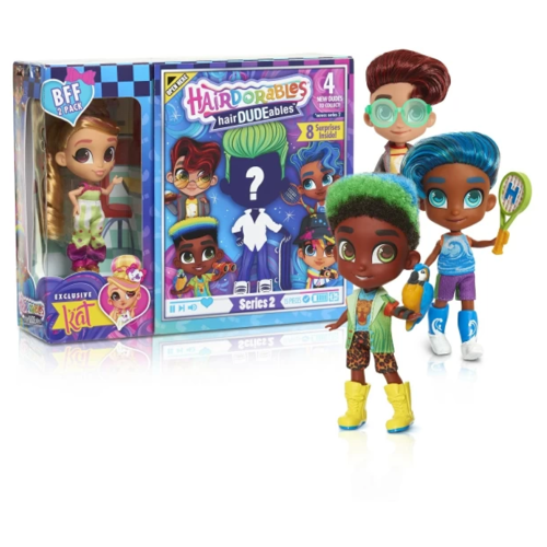Кукла-загадка Hairdorables Series 2 Сладкая парочка 23775.