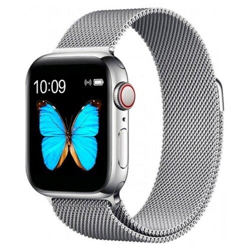 Умные часы BandRate Smart BRST500500WB, серебристый