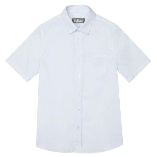 Купить Рубашка Gulliver размер 128, белый, Рубашки
