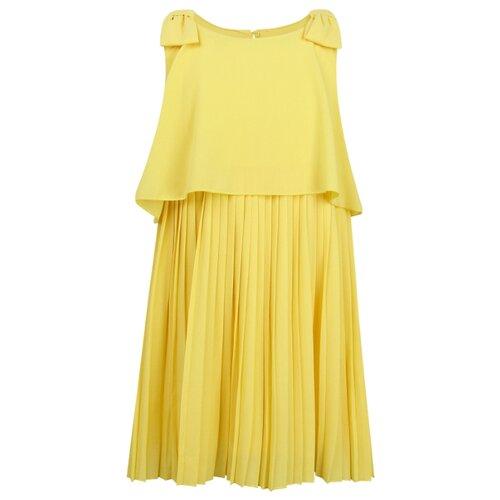 Купить Платье Mayoral размер 128, желтый, Платья и сарафаны