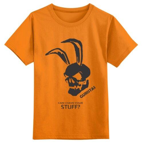 Купить Футболка Printio размер XS, оранжевый, Футболки и майки