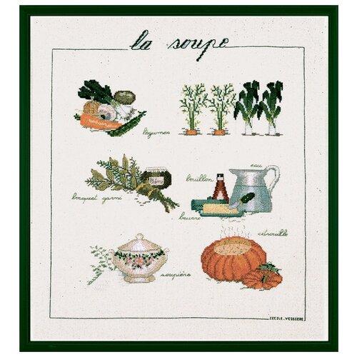 Купить Набор для вышивания: SOUPE (Суп) Le Bonheur des Dames, 40*46 1180, Наборы для вышивания