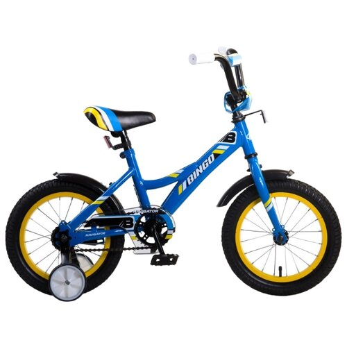 Детский велосипед Navigator Bingo (ВМ14190/ВМ14191) синий (требует финальной сборки) велосипед детский navigator вн20214 basic