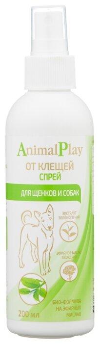 Спрей от блох и клещей Animal Play репеллентный для собак и щенков