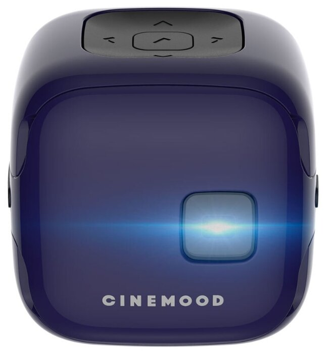 Карманный проектор CINEMOOD Кинокубик ivi