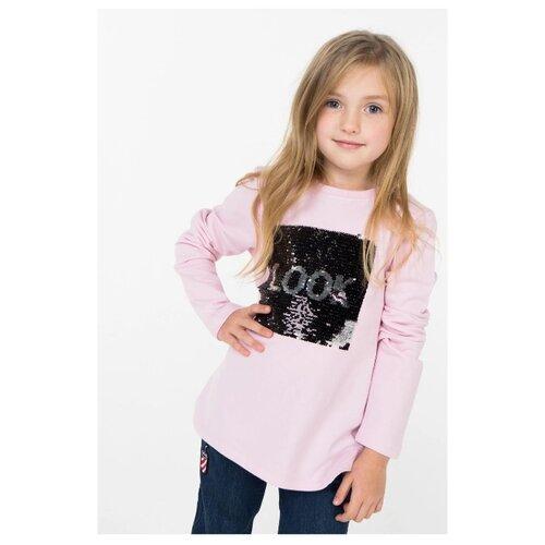 Лонгслив INCITY, размер 110, розовый платье incity размер 110 розовый