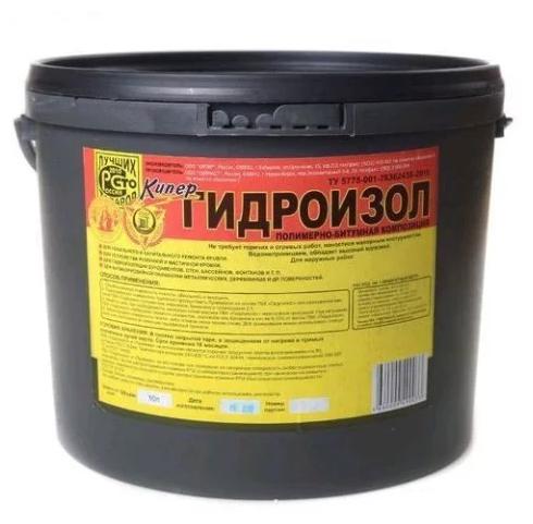 Мастика Кипер Гидроизол 10 л