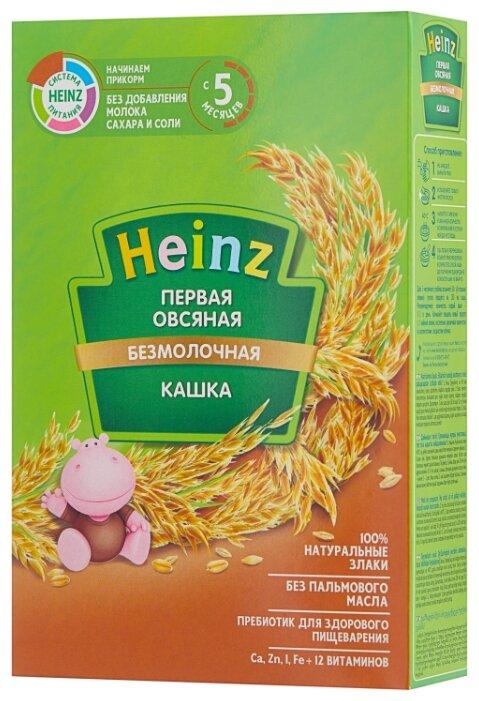Каша Heinz безмолочная Первая овсяная с пребиотиками (с 5 месяцев) 180 г — купить по выгодной цене на Яндекс.Маркете
