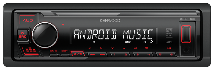 Автомагнитола Kenwood Flash KMM-105RY