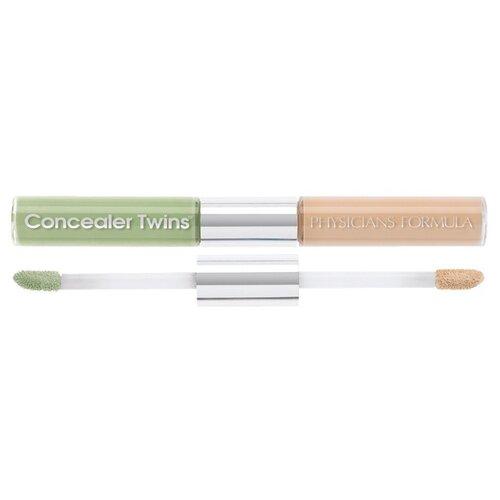 Physicians Formula Консилер Concealer Twins 2-in 1 Correct & Cover Cream Concealer, оттенок зеленый/светлый