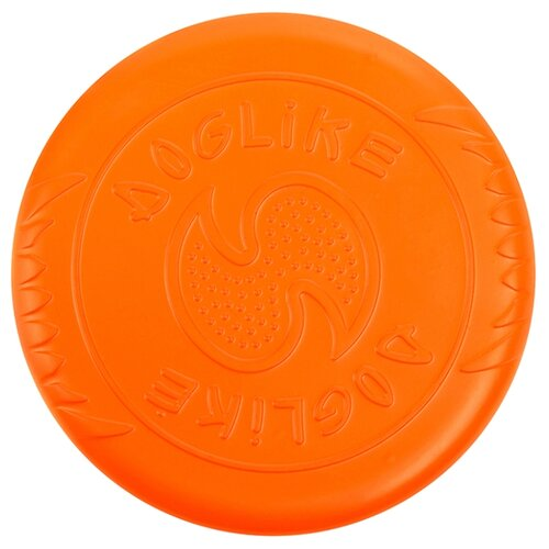 Фото - Фрисби для собак Doglike Летающая тарелка малая (DT-7333) оранжевый игрушка для собак doglike шинка гига оранжевый