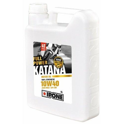 Синтетическое моторное масло IPONE Full Power Katana 10W40, 4 л по цене 3 700