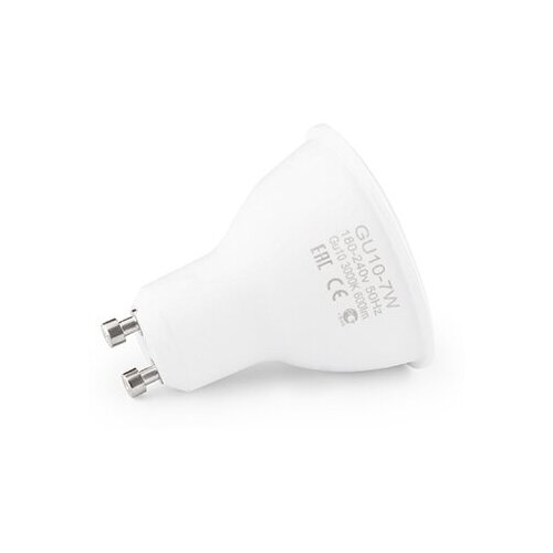 Лампа светодиодная SWGroup LB-GU10-MR16-7-WW, GU10, MR16, 7Вт лампа светодиодная полусфера volpe simple gu10 5w 3000k led jcdr 5w ww gu10 s