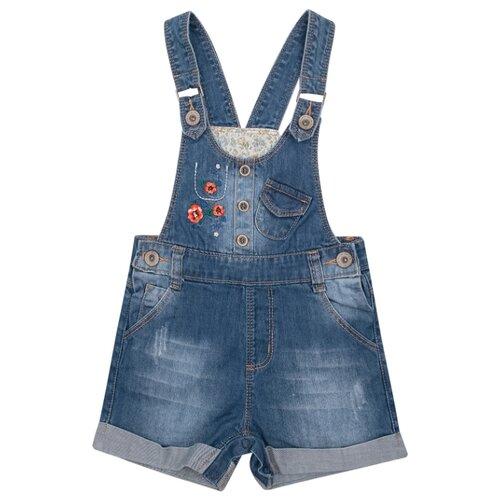Купить Полукомбинезон Fun time SS20G15 размер 86, синий, Брюки и шорты