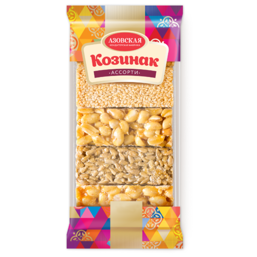 Козинак Азовская кондитерская фабрика Ассорти 280 г